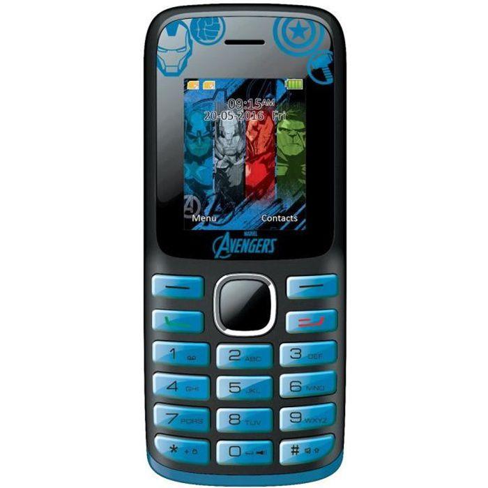 AVENGERS Téléphone portable enfant LEXIBOOK
