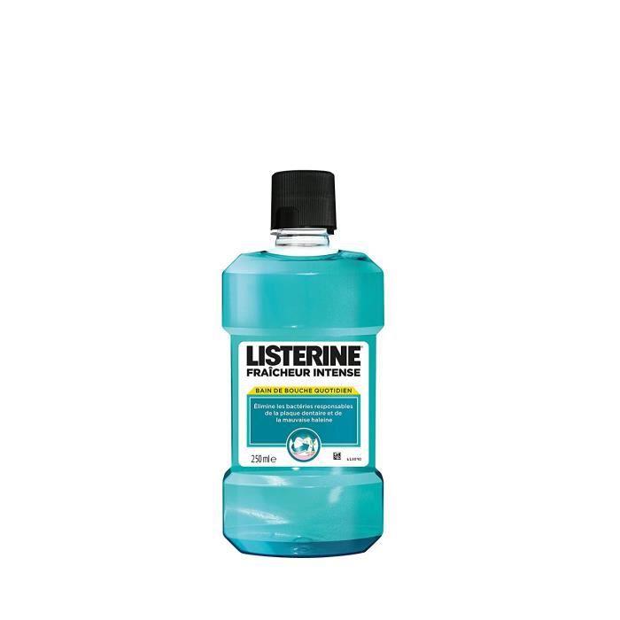 Listerine Intense Bouteille Fraicheur 250 ml