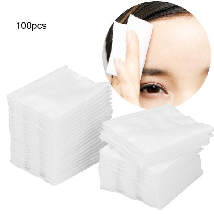 GOL-Lv.life☀Accessoire de tatouage de tampons de coton de retrait de maquillage de coton de maquillage de tatouage épaissi doux☀