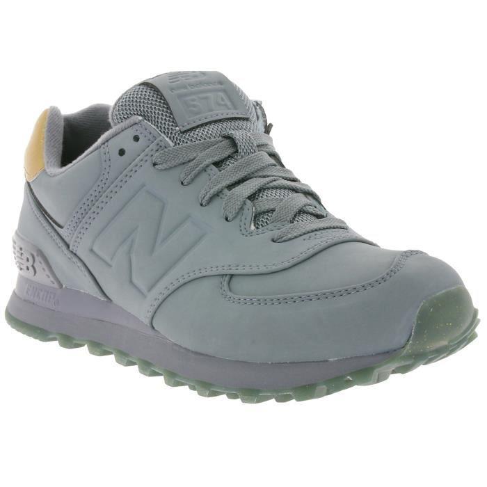 New Balance 574 Sneaker Femmes Gris WL574MTA