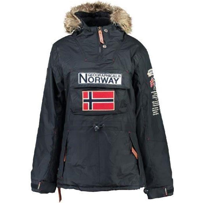 Parka Femme Geographical Norway Boomera Marine