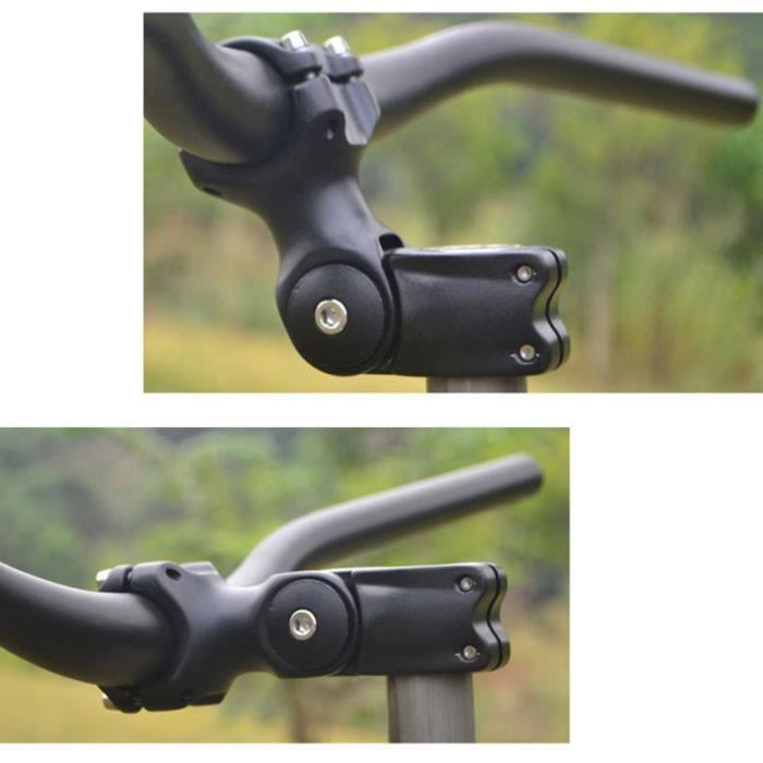 Alliage d'aluminium réglable Angle Vélo Guidon Tige Extension Riser Pièces 31,8 x VELO DE VILLE - BEACH CRUISER - VELO HOLLANDAIS