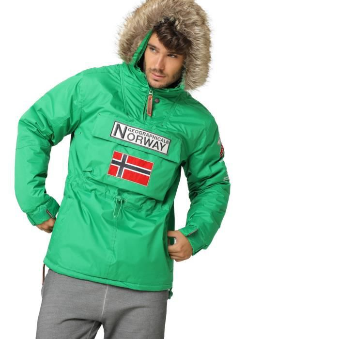 GEOGRAPHICAL NORWAYDoudoune pour Homme Building - Vert - Homme