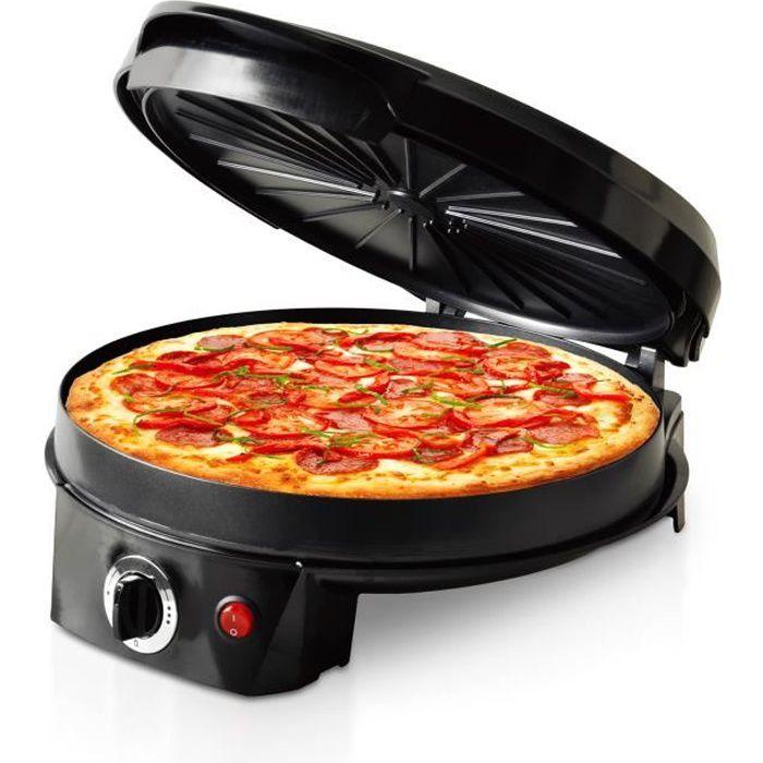 Multicuiseur spécial (Pizza-Tarte-Crepe) 1200W - Triomph ETF1599