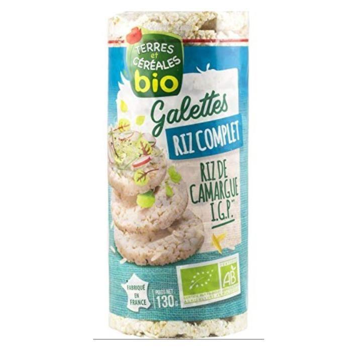 BJORG Galettes de riz complet bio - 130 g