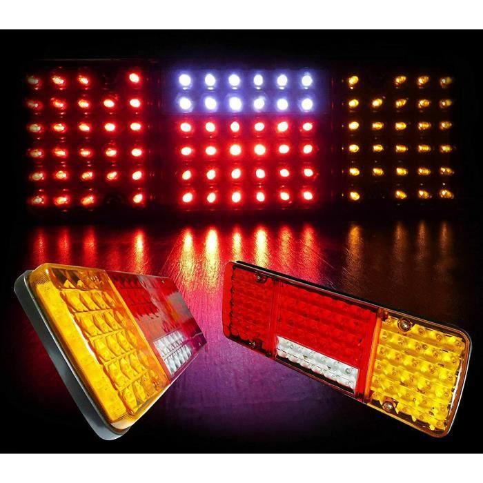 Feux Standard Clignotants Latéraux RDX LED Transparent 10 Lampe
