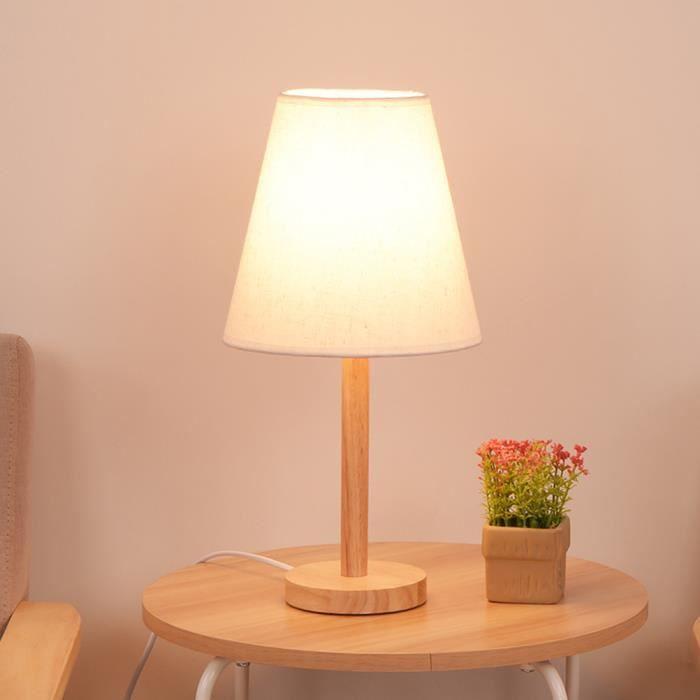 24 cm Contemporary Ceramic Base Lampe Pour chevet//bureau//salon en Beige