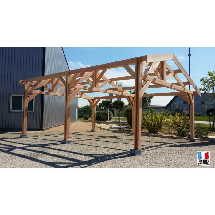 carport bois en bretagne. Black Bedroom Furniture Sets. Home Design Ideas
