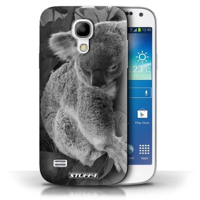 Coque Samsung Galaxy S4 Mini / Koala Design / Animaux de zoo ...