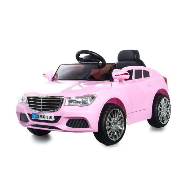 berline style c class 12v rose voiture electrique pour enfants achat vente voiture enfant. Black Bedroom Furniture Sets. Home Design Ideas