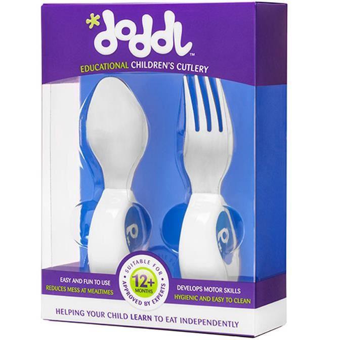 Cuill/ère et Fourchette pour b/éb/é,Multicolores sa Cuill/ère b/éb/é Fourchette b/éb/é Ensemble de couverts pour encourager votre b/éb/é /à manger de mani/ère ind/épendante