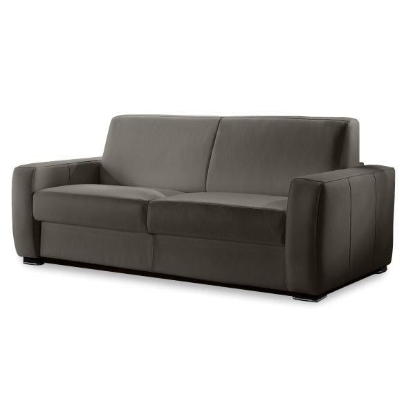 Canap convertible 3 places couchage 140cm rapi salon for Salle a manger 4 places