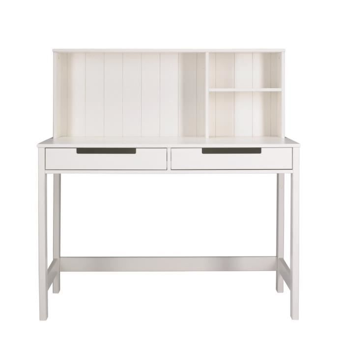 miliboo bureau enfant en pin blanc zilla achat vente bureau zilla bureau cdiscount. Black Bedroom Furniture Sets. Home Design Ideas