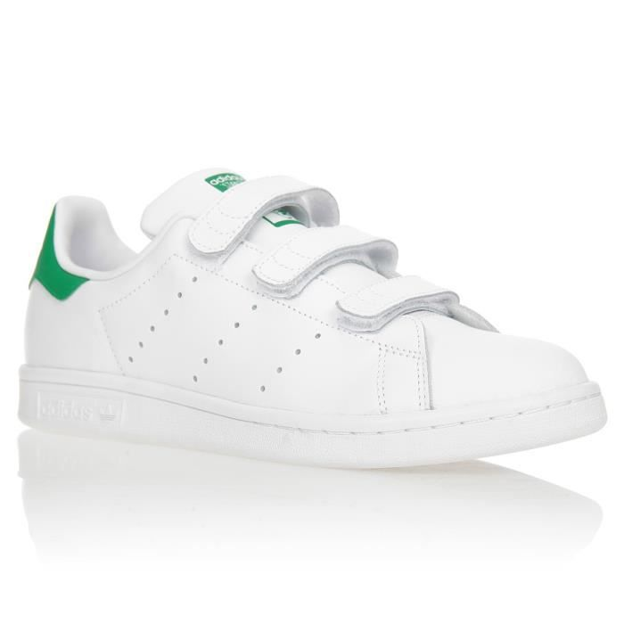 ADIDAS ORIGINALS Baskets Stan Smith Cf J Chaussures Enfant ...