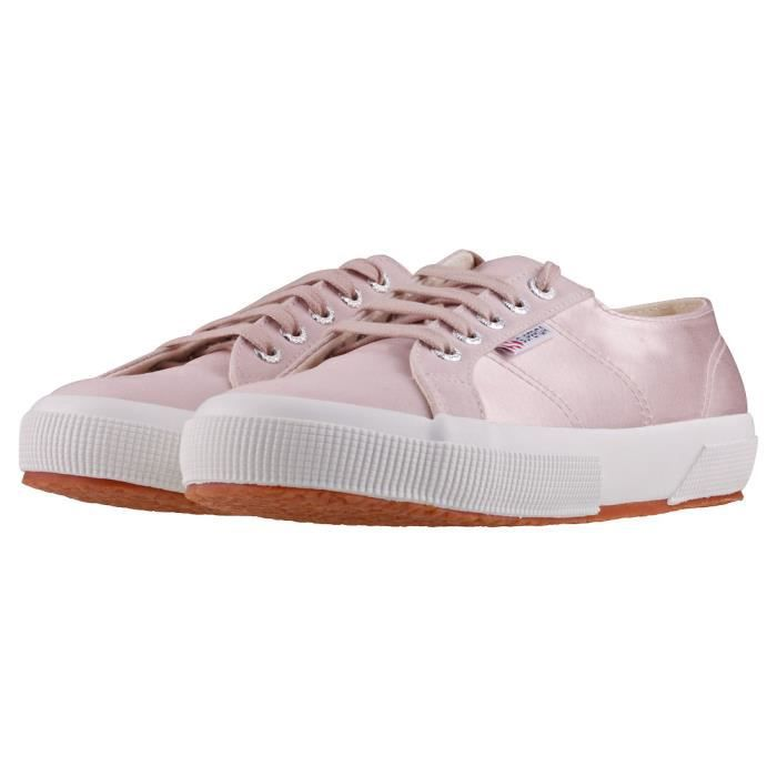 Superga 2750 Satin Femmes Baskets Rose - 5 UK
