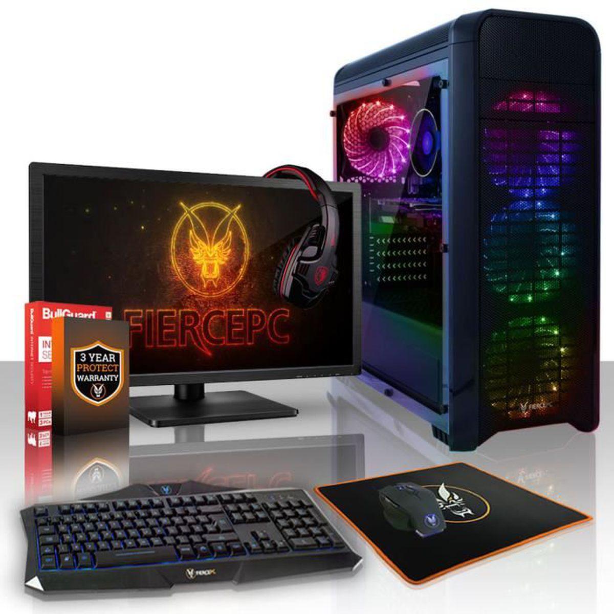 UNITÉ CENTRALE  Fierce PANTHER PC Gamer de Bureau - AMD Ryzen 5 16