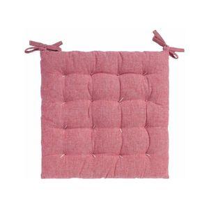 COUSSIN DE CHAISE  Coussin de chaise carré Obélix rose Calma House 40