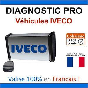 OUTIL DE DIAGNOSTIC Valise de Diagnostic PRO pour véhicules IVECO - MP