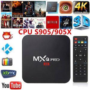 BOX MULTIMEDIA Android 6.0 TV Box KODI 17.4 Amlogic S905X Quad Co