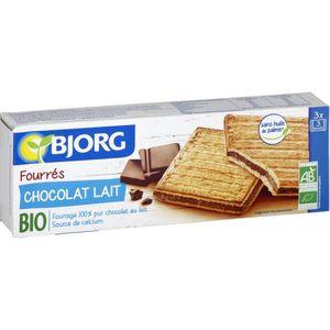 BISCUITS CHOCOLAT Biscuits chocolat au lait bio 225 g Bjorg