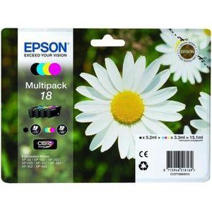PACK CARTOUCHES EPSON Cartouches d'Encre Multipack Pâquerette T180