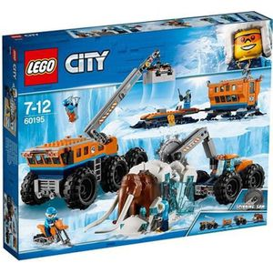 ASSEMBLAGE CONSTRUCTION LEGO® City 60195 La Base Arctique d'Exploration