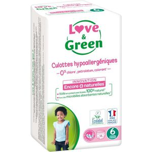 COUCHE LOVE & GREEN Culottes Apprentissage Ecologiques Hy