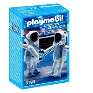 UNIVERS MINIATURE Playmobil 2 Escrimeurs