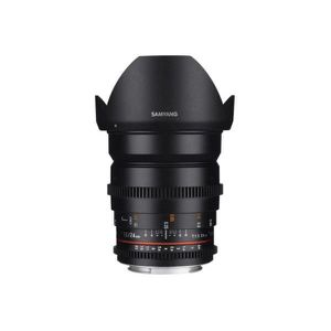OBJECTIF Obj SAMYANG 24mm T1.5 ED AS IF UMC II Ni