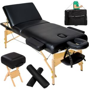 Table de massage TECTAKE Table de massage Pliante 3 Zones 13 cm d'E