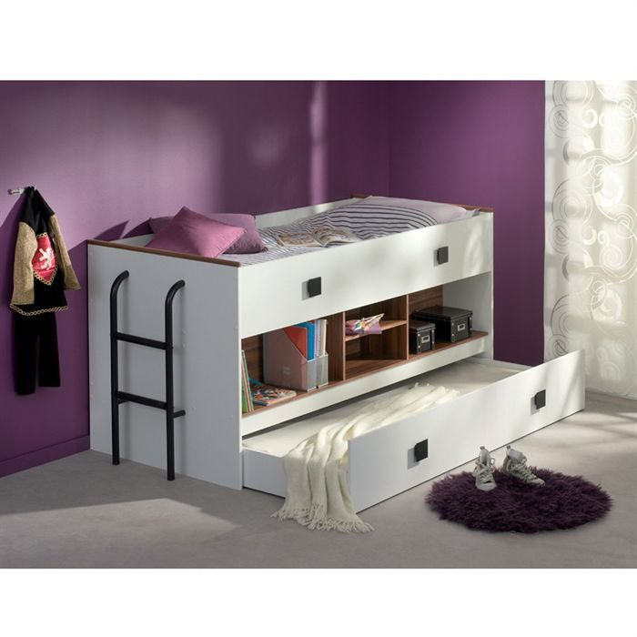 stan lit enfant combin 90x200 90x190 achat vente lit mezzanine stan lit combin 90x200. Black Bedroom Furniture Sets. Home Design Ideas