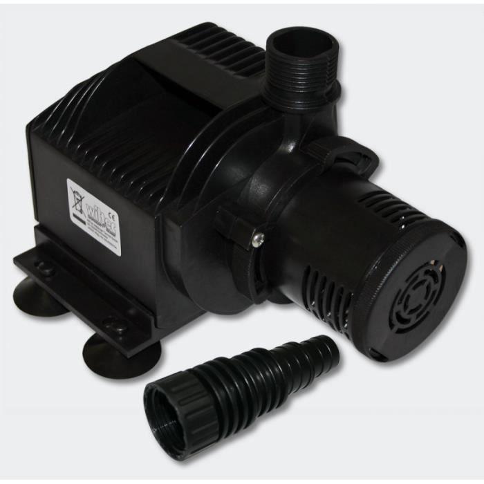 Pompe à eau de bassin filtre filtration cours d'eau eco aquarium petit étang eco 3500l/h 50W 4216069
