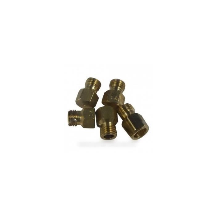 Sachet injecteurs gaz naturel pour cuisinière ARTHUR MARTIN ELECTROLUX FAURE 8990182 - * - AHG6821 - BVMPièces
