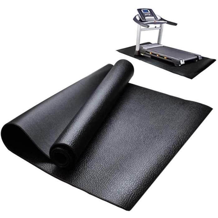 TAPIS DE COURSE Tapis pour Appareils de Fitness Antideacuterapant Reacuteduction du Bruit Tapis de Sol pour Tapis de Course Cycl285