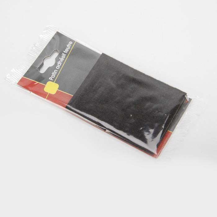 COGEX Patin adhesif feutre - 75x100 mm - 2 pcs (Lot de 3)