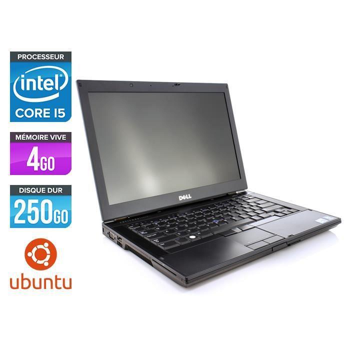 Dell E6410 - Core i5 - 4Go - Linux