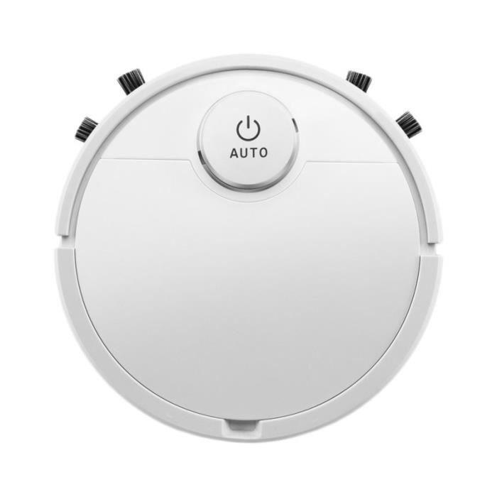 Robot de nettoyage de sol Utile Trois-en-un Simple USB Smart Clean Machine Cleaner Gift for Home (White, ES300) ASPIRATEUR ROBOT