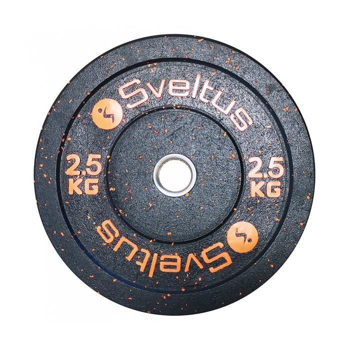 Sveltus Caoutchouc d'haltère olympique 2,5 kg