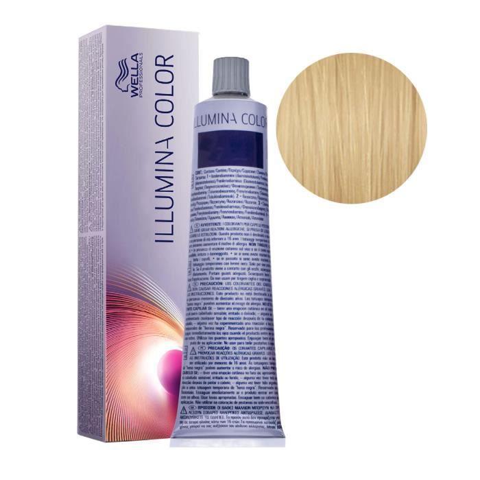 10-36 Blond Très Très Clair Doré Violet Wella Illumina Color 60ml