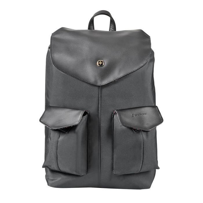 Élégant et pratique! - Le nouveau sac WENGER donne une touche spéciale à votre journée de travail ou à la journée universitaire.