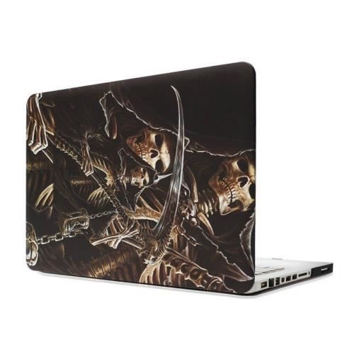 Macbook pro 15 4 coque housse plastique t te de mort for Housse macbook pro 15