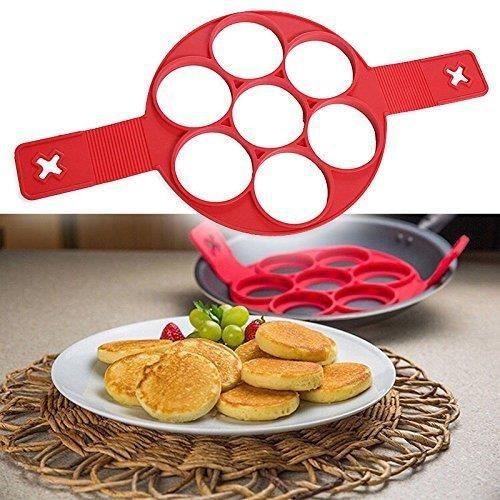 MOULE  Moule Silicone Pancake Omelettes Crêpe Poêle Noël