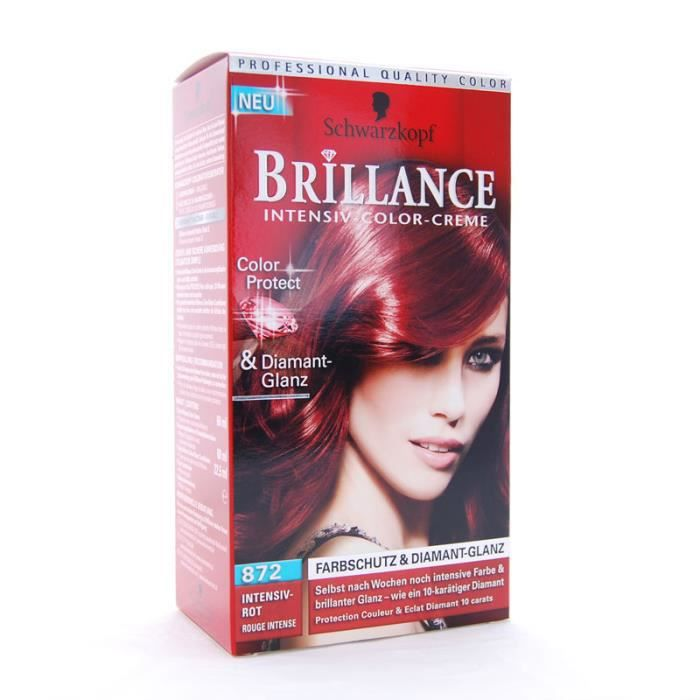coloration brillance de schwarzskopf n872 rouge intense - Coloration Cheveux Violet