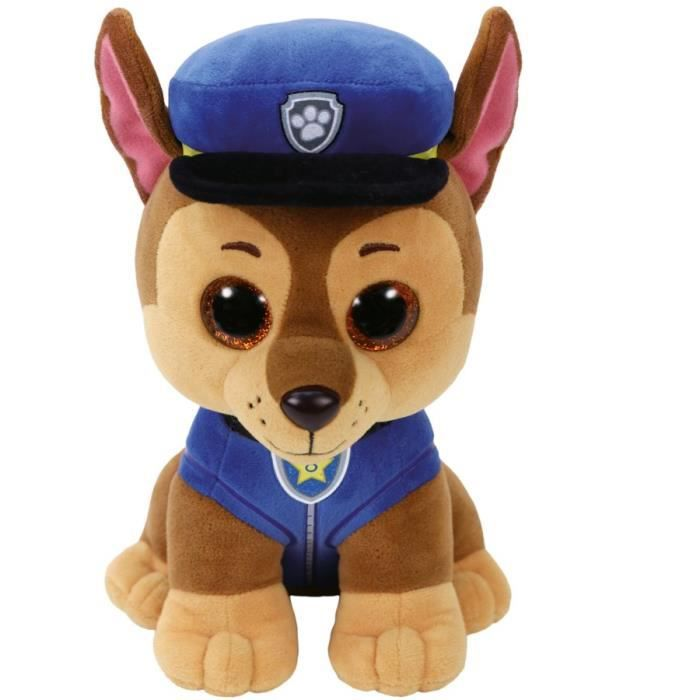 Ty TY41212 Peluche Rocky Taille 15 cm Pat/' Patrouille