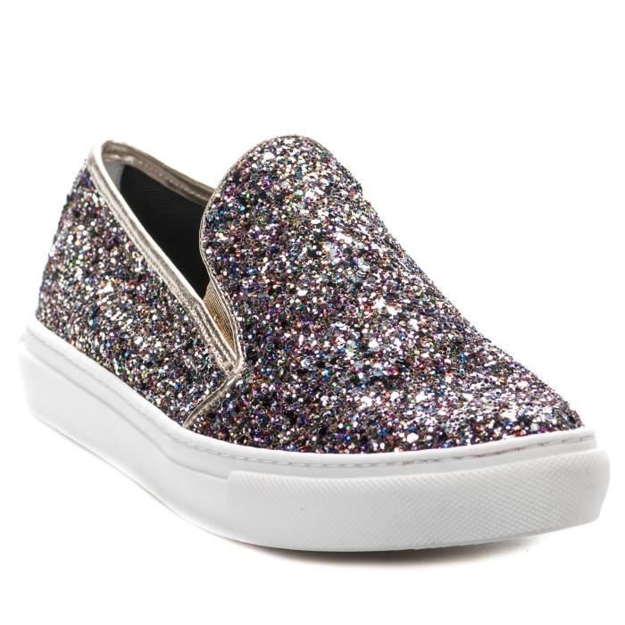 Slip On femme - CYPRES - Multicolore - 095 N3mPvHA