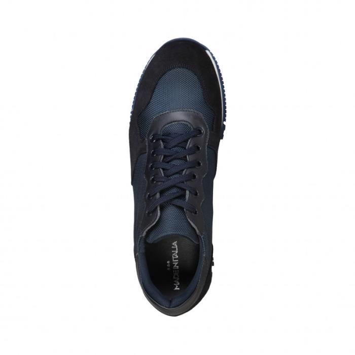 Basket - Made in Italia - Sneakers pour Homme bleu Made in Italia