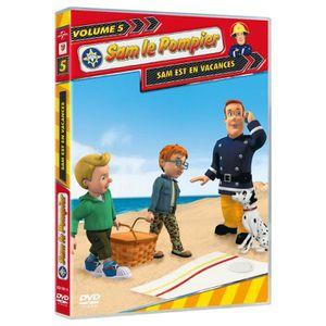 DVD DESSIN ANIMÉ DVD Sam le pompier, vol. 5 : Sam est en vacances