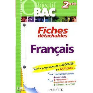Francais 2de Achat Vente Livre Carole Amsellem Hachette