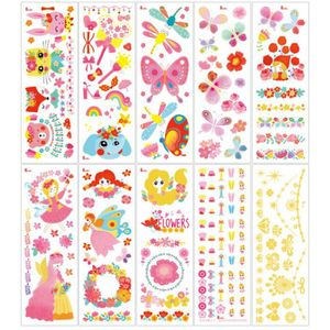 0330fb01f13 STICKERS - STRASS Enfants Nail Tattoo Stickers Party Favors Temporar