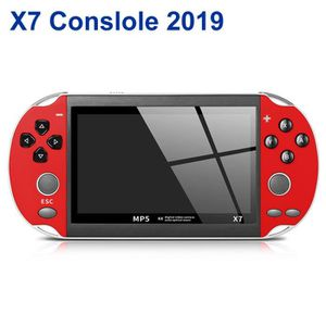 CONSOLE PSP X7 PSP Console 4.3 Pouces Screen 300 Jeux Intégrés